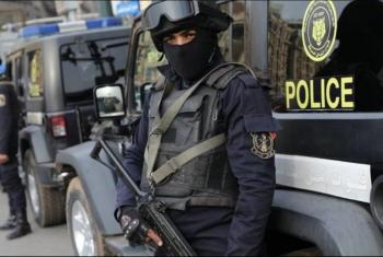 قوات الأمن تعتقل مواطنًا من بلبيس