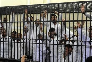 تأجيل محاكمة 28 معتقلا من الزقازيق