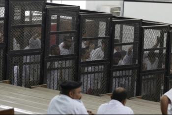السجن ما بين سنتين إلى 5 سنوات بحق 28 معتقلا بمنيا القمح