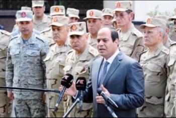 الـ 11 في 6 سنوات.. السيسي يمنح متقاعدي الجيش زيادات استثنائية