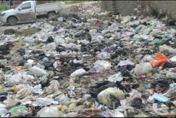 استغاثات من تراكم القمامة بشوارع بلبيس