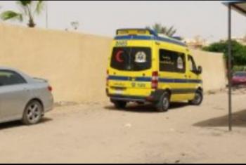 إصابة 11 شخصا من عمال اليومية في حادث بالحسينية