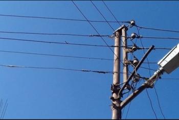 مشتول السوق  أسلاك كهرباء عارية تنذر بكارثة في عزبة حسين أفندي