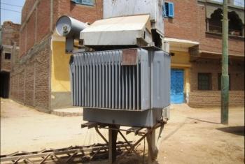 ضعف التيار الكهربائي في قرية المحمودية بههيا