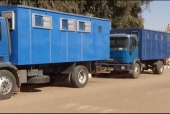 ترحيل 19 معتقلا من ههيا الى مركز شرطة كفر صقر