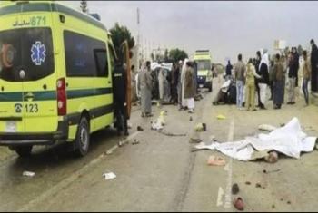 أولاد صقر| مصرع طالب في حادث تصادم أمام قرية منشية ناصر