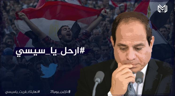 قوى المعارضة بالخارج المصري: حراك 20 سبتمبر مقدمة لانتفاضة