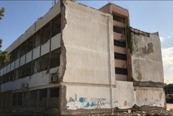 أولياء أمور مدرسة خالد بن الوليد فى فاقوس يستغيثون من عدم صيانتها منذ عدة سنوات