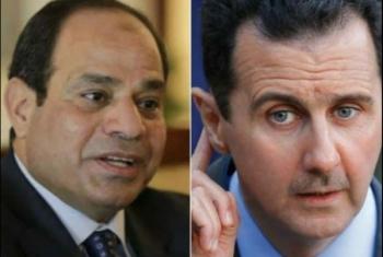 الانقلاب يوافق على إمداد ميليشيات الأسد بسلاح مصري نوعي