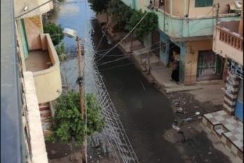 مياه المجاري تغرق قرية عمريط بأبوحماد.. والأهالي يستغيثون