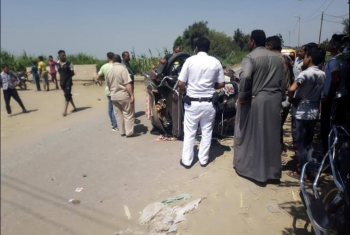 إصابات خطيرة في حادث مروري أمام عزبة كامل بديرب نجم