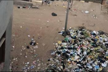 استغاثات من القمامة في بلبيس