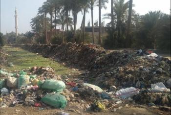 القرين  مطالب بالتخلص من القمامة بمنطقة جرن أبوعون