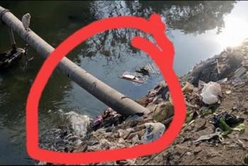 اختلاط مياه الري بالمجاري في الزقازيق