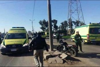 مصرع 3 أشخاص في حادث تصادم بين دراجتين بخاريتين بمشتول السوق