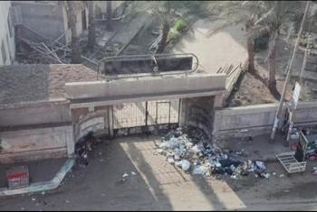 استياء بسبب انتشار القمامة بمحيط مستشفى مشتول السوق