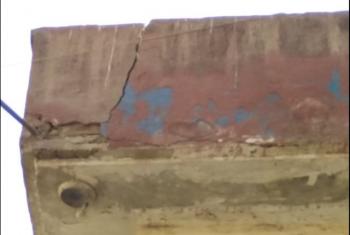 منزل آيل للسقوط بحي السوالم في أبوكبير