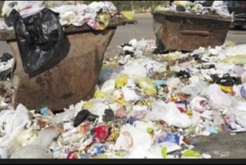 الزقازيق| سكان شارع مولد النبي يشكون من انتشار أكوام القمامة