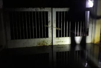 أبوكبير.. محطة صرف هربيط غارقة بمياه الصرف الصحي