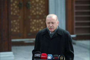 أردوغان يدين غارات الاحتلال على غزة وسط صمت الحكام العرب