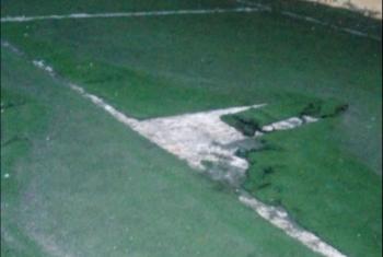 أبوحماد| شباب قرية بحطيط يطالبون بتجديد ملعب كرة القدم بمركز الشباب