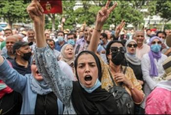 تونسيون ضد الانقلاب: