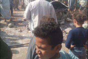 مظاهرات وهتافات برحيل النظام في قرى محافظة الجيزة